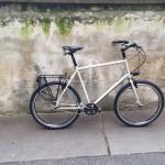 Dominiks Reiserad ist fahrbereit