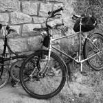 Waffenrad und Faltrad