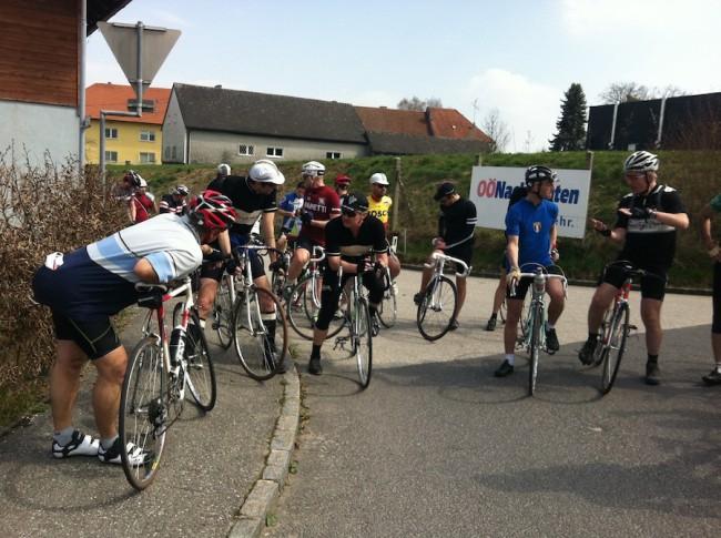 Kirschblüten Radklassik Generalprobe 2015
