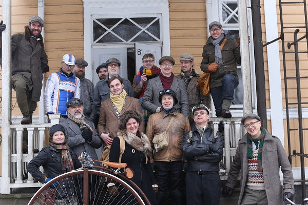 Tweed Run Helsinki 2016