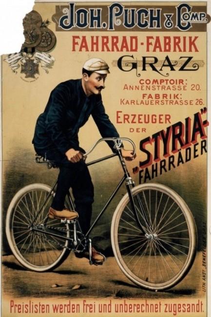 Plakat 1891 Steiermäkisches Landesarchiv